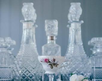 Teacup Martini Glass
