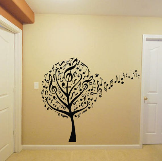 Music Tree Wall Decal by RoomDecalsAndDesigns