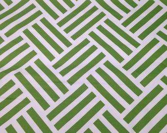 2.5 Yards Green Parkay Michael Miller Home Dec Fabric