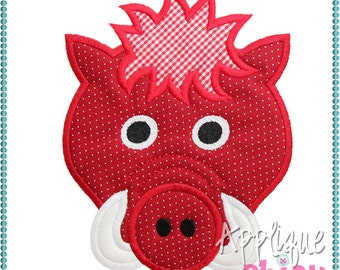 Hog Applique Design