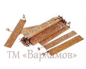 Bookmark birch bark bookmark book lover gift