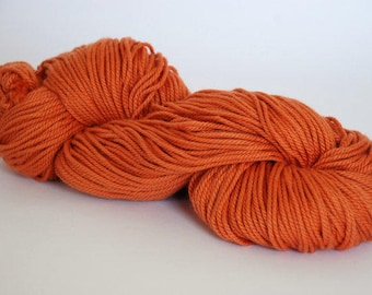 HAZELNUT ~ ARAN Pure natural Cotton yarn ~ co.no 5