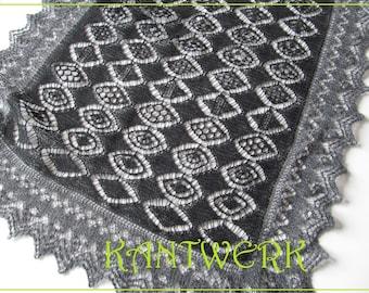 ESHA, pattern PDF of Shetland Lace SAMPLER