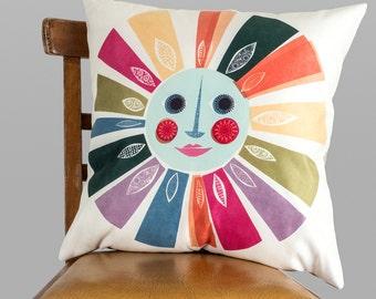 Bring me sunshine  cushion by Jane Ormes
