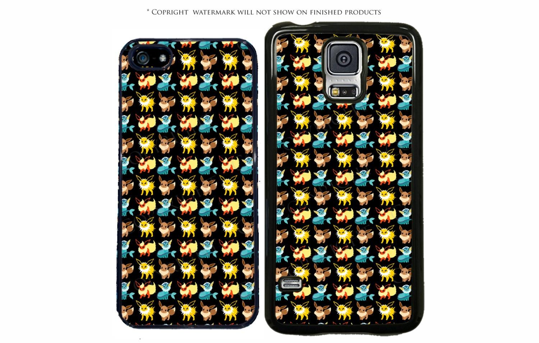 Pokemon Go Eevee Evolution Phone Case Cover For Apple IPhone