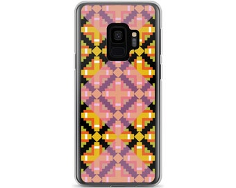 Kilim 02 Plaid Diamond Square Grid Bold Colors Colorful Samsung Cellphone Phone Case
