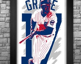 "MARK GRACE 11x17"" art print."