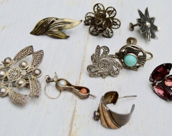 9pc Most Sterling Jewelry lot Reuse