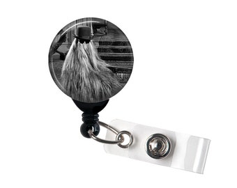 The Addams Family,Cousin ITT, Retractable ID Badge Reel, 1964 TV show