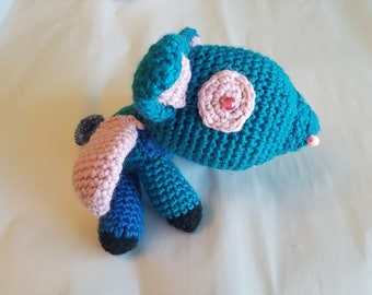 Amigurumi Flying Pig