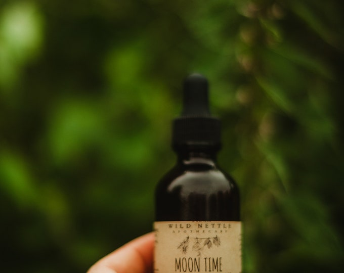 MOON TIME ELIXIR - Menstrual Cycle Support - Lunar Infusion - natural healing - herbal supplement