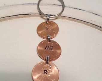 Lucky Penny Family Keychain
