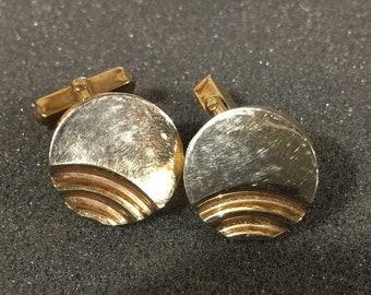 MAYniaSALE Vintage round cuff links
