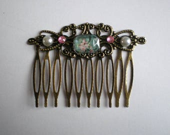 """""""Ode to spring"""" collection hair comb"""