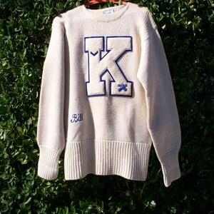 Vintage Letter Sweater, Man's