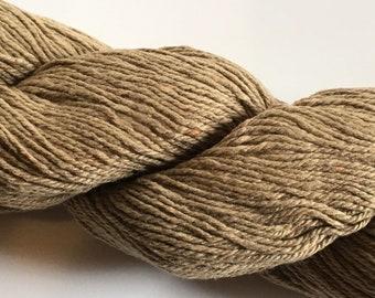 Knit One Crochet Too Cozette 2 #863 Earth - Tan, Light Brown Fine Silk Cotton Nylon Yarn 50gram 255 yards, Sport / 2 Fine