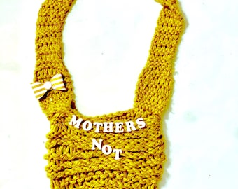 Mothers Not Others Knit Shoulder bag