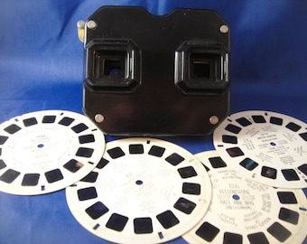 View Master Sawyer's with Four Reels