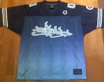 TRIBAL jersey, vintage hip hop t-shirt, 90s hip-hop clothing, 1990s lowrider shirt, OG, gangsta rap, size L