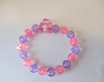 Teddy Bear Beaded Bracelet-Birthday Gift-Girls Bracelet-Teddy Bear Bracelet-Gifts for Her-Gifts for Girls-Bracelets for Girls