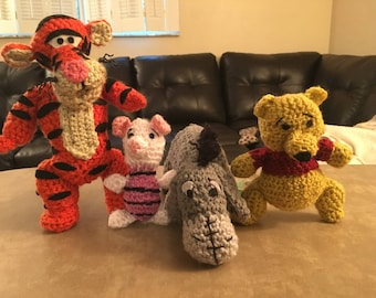 Winnie The Pooh and Friends Crochet