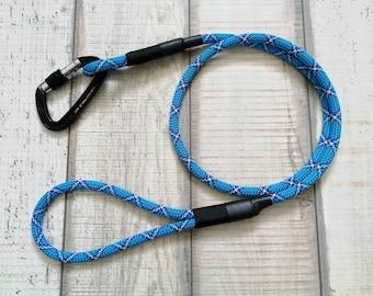 Dog leash climbing rope, dog leash round, Tauleine, dog leash from climbing rope, dog leash rope