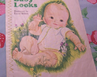 baby looks cloth book
