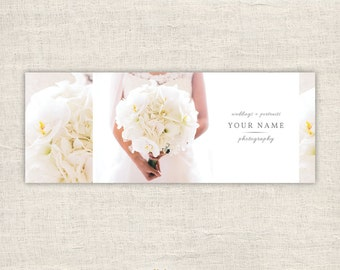 Facebook Cover Template for Photographers - Photography Facebook Timeline Cover - Wedding Photography Marketing Template - INSTANT DOWNLOAD