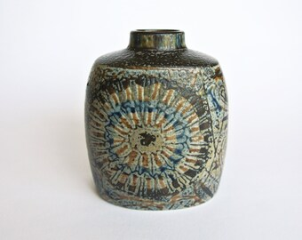 Small vintage Baca vase made by Royal Copenhagen, designed by Nils Thorsson Denmark