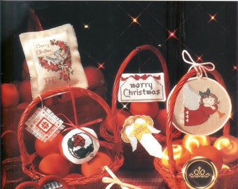 Christmas Ornament Issue of Just CrossStitch Magazine with Special Hanukkah Designs