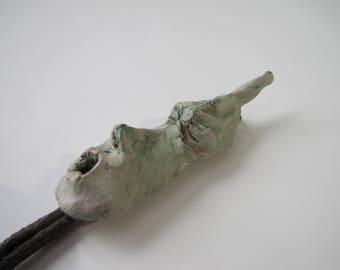 sculpture, ceramics, figurine, weird art - Mr. Long Face