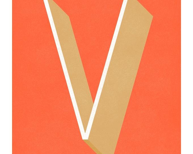 The Letter V, Too