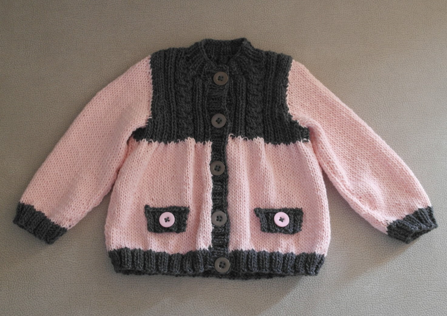 Baby Knitted Cable Jersey, PDF Download, Baby Knitting Pattern, Baby ...