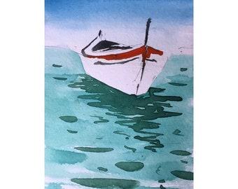 Original Watercolor Painting  | Original Painting | Seascape Painting | Art | Landscape painting| Wall decor
