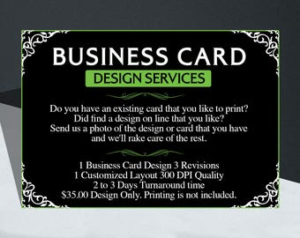 1000 Business Cards Full Color Both Sides.