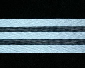 Ribbon Organdie white 4 cm x 1 meter