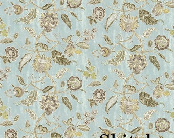 Komaki - Floral Print - Multiple Colors Available - Home Decor Fabric by the Yard