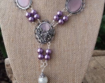 Elizabethan Renaissance Victorian SCA Vintage Inspired Necklace