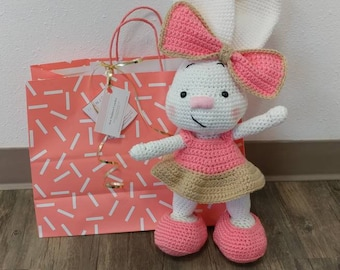 Bunny - Bunny Rabbit - Stuffed Animal - Crochet Bunny - Easter Bunny