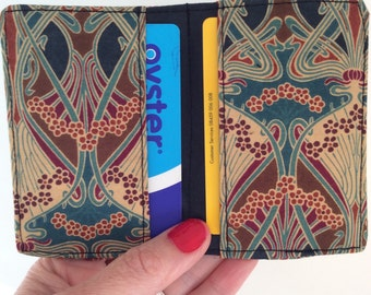 Liberty of London Card holder, Oyster card holder, travel card, credit card holder