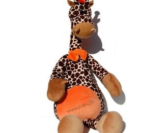 Patron PDF de la girafe Flo