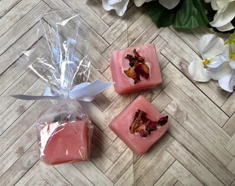 Rose petal detailed soap bar, party and guest favours, bomboniere present, bridal shower, baby shower, engagment, wedding, unique gift