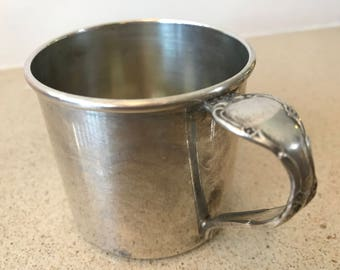 Community Oneida VINTAGE Silverplate Baby Child Toddler Cup or Mug
