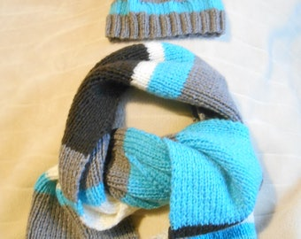 large knit scarf women knit scarf for women, wool, knitted scarf handmade scarf