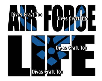 Air Force Life SVG