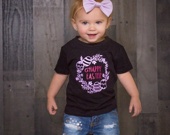 Happy Easter Shirt, Baby's First Easter, First Easter, Baby Easter Outfit, Easter Outfit, Easter Baby