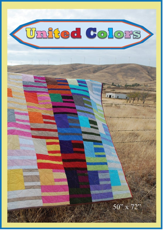 United Colors - An Urban Folk Pattern from Blue Nickel Studios - PDF Download