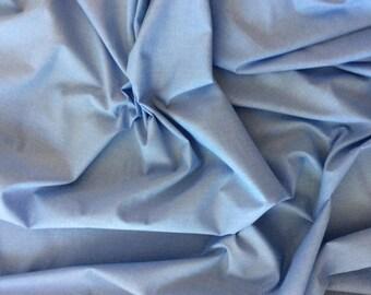 Cotton oxford poplin, baby blue