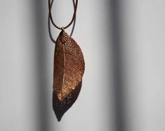 Copper Leaf Pendant (37)