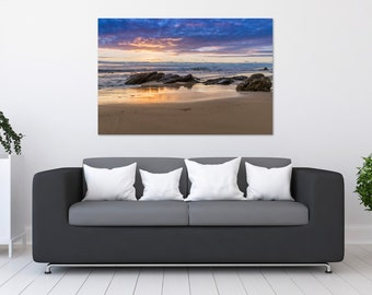 Corona Del Mar Sunset Photo Print | Wall Art | Nature and Landscape Photography | (5x7, 8x10, 12x18, 16x24, 20x30, 24x36, 40x60)
